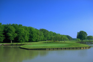 Golf course near Clarion Resort Fontainebleau.