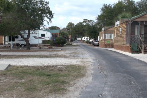 RV resort at Navarre Beach Campground.