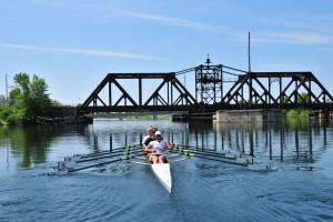 Kayaking at Vine Ridge Resort.