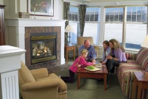 Family at Stoweflake Mountain Resort & Spa.