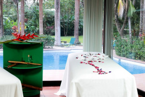 Spa Table at Barcelo Tambor Beach Resort