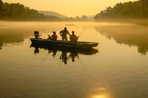 Fishing at Gaston's White River Resort.