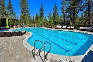 Onsite Amenities like swimming pools available with some rentals at Tahoe Signature Properties