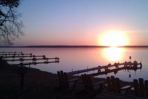 Sunrise at Sandy Beach Resort.