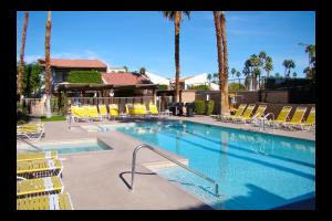 Outdoor pool at Casitas del Monte.