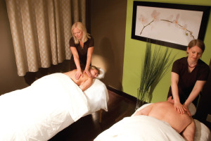 Massages at Grande Rockies Resort.