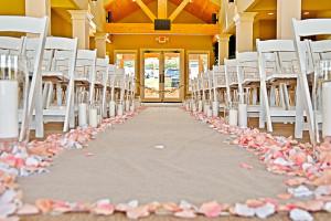 Wedding ceremony at Old Kinderhook Resort & Golf Club.