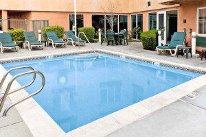 Outdoor Swimming Pool at Hawthorn Suites by Wyndham Livermore
