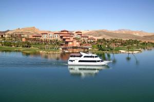 Lake view at The Westin Lake Las Vegas Resort & Spa.
