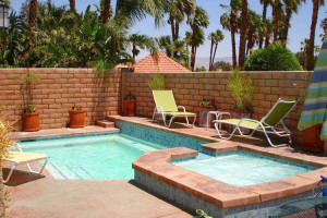 Villa pool at Sundance Villas.