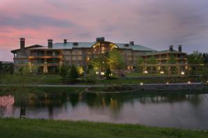 Exterior View of Turning Stone Resort Casino