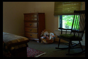 Guest room at House At Confluence.