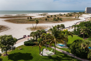 Beach view at Sunsational Beach Rentals. LLC.