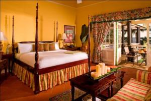 Guest room at Ocean Edge Resort.