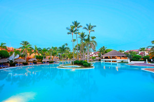 Outdoor pool at Occidental Grand Punta Cana.