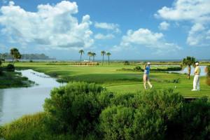 Playing Golf at  Fripp Island Golf & Beach Resort