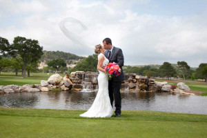Wedding at Tapatio Springs Hill Country Resort.