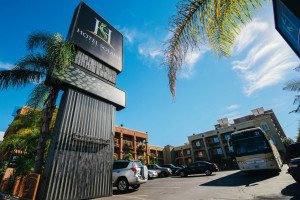 Hotel Solaire is located minutes from downtown Los Angeles.