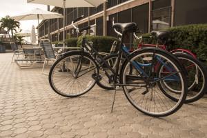 Bikes at Sea Oats Beach Club.