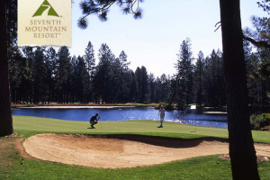 Hitting the Greens at Seventh Mountain Resort
