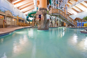 Waterpark at Holiday Inn Minneapolis.