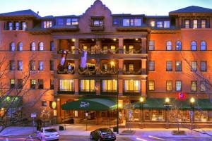 Exterior View of Hotel Boulderado