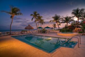 Outdoor pool at Chesapeake Beach Resort.