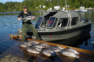 Fishing at Imperial Eagle Lodge & Charters.