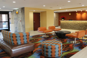 Lobby Area at Best Western Plus Fresno Airport Hotel