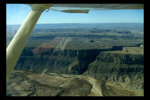 Scenic flights at Big Bend Resort & Adventures.