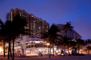 Exterior view of Marriott's BeachPlace Towers.