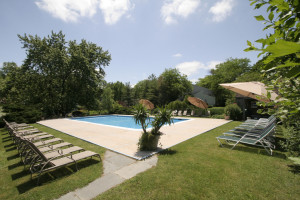 Outdoor pool at Interlaken Resort & Conference Center.