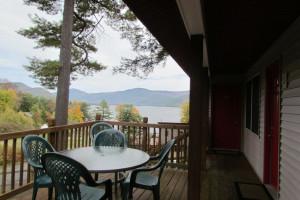 Deck view at Contessa Resort.