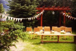 Wedding Ceremony at Paintbox Lodge