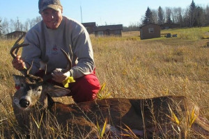 Fall deer hunting at Angle Outpost Resort & Conference Center.