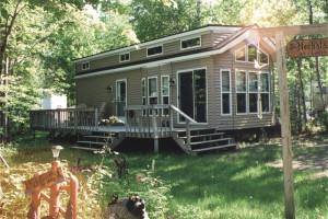 Cabins at Deer Run Resort.