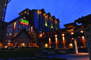 Exterior view of River Rock Casino Resort.