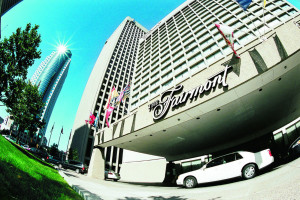 Exterior of The Fairmont Winnipeg.