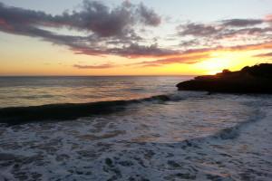 The beach at Best Western Seacliff Inn.