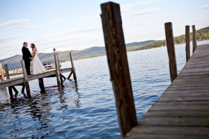 Weddings at The Lodges at Cresthaven on Lake George.