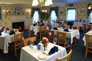 The Pennington Room at Historic Afton House Inn.