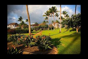 Exterior view of Luxury Kauai Condos & Villas.