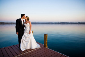 Wedding at Heidel House Resort.