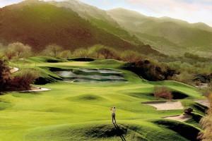 Golfing at Arizona Grand Resort.