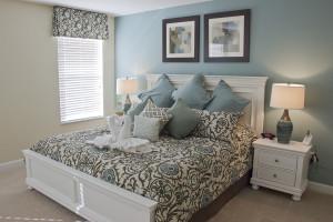 Rental bedroom at Florida Dream Management Company.