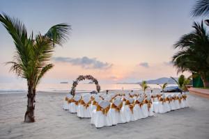 Wedding Ceremony at  Barcelo Ixtapa Beach