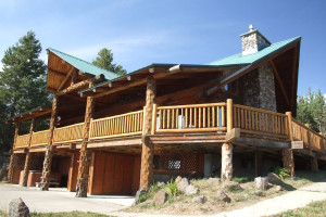 Exterior view of Eagle Ridge Ranch.