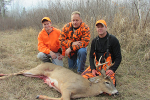 Thunder Lake Lodge Deer Hunters.