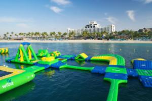 Beach at Jebel Ali Hotel and Golf Resort.