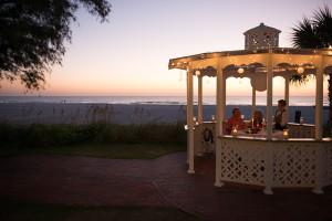 Sunset at TradeWinds Island Grand.